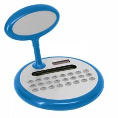 Namizni kalkulator s tablico za napis, modra ART996904
