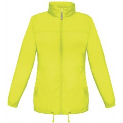 Vetrovka B&C Sirocco /women ultra yellow JW902