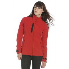 Ženska softshell jakna B&C X-Lite Softshell /women JW938