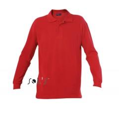 Moška polo majica - MEN'S LONG-SLEEVED POLO SHIRT • 100% bombaž SOL'S STAR-11328