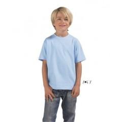 Otroška majica - KIDS' ROUND COLLAR T-SHIRT • 100% bombaž SOL'S IMPERIAL-KIDS-11770