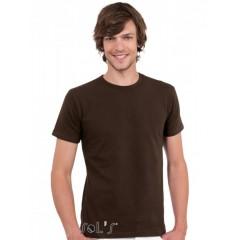 Moška majica - MEN'S ROUND COLLAR SHORT SLEEVES T-SHIRT • 95% bombaž - 5% elastan SOL'S MILANO-11934