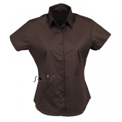 LADIES' SHORT SLEEVED STRETCH SHIRT • 97% bombaž - 3% elastan SOL'S EXCESS-17020