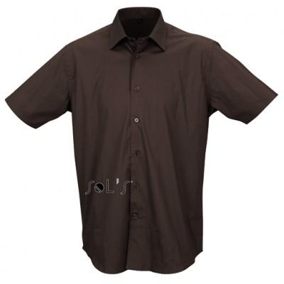 MEN'S SHORT SLEEVED STRETCH SHIRT • 97% bombaž - 3% elastan SOL'S BROADWAY-17030