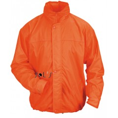 Jakna - vetrovka - JERSEY-LINED WATERPROOF MEN'S WINDBREAKER • nylon  SOL'S MISTRAL-46000