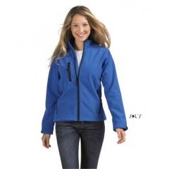 Ženska softshell jakna - WOMEN'S SOFTSHELL ZIPPED JACKET • 94% poliester - 6% elastan SOL'S ROXY-46800