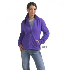 Ženska flis jakna - WOMEN'S FLEECE JACKET WITH ZIP • poliester SOL'S NORTH-WOMEN-54500