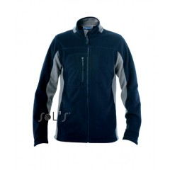 Flis jakna - MEN'S 2-COLOUR ZIPPED JACKET • poliester SOL'S NORDIC-55500