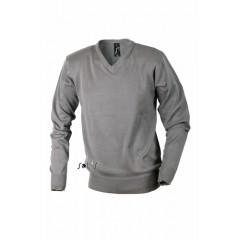 Moški pulover - MEN'S V-NECK SWEATER • 50% bombaž - 50% acrylique SOL'S GALAXY-MEN-90000