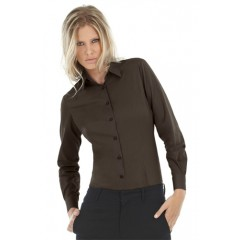 B&C Black Tie LSL /women TW017