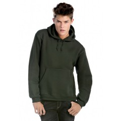 Pulover s kapuco B&C Hooded Full Zip /men WM647