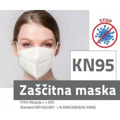 Zaščitna maska - respirator FFP2 - KN95 N1217 - ZALOGA